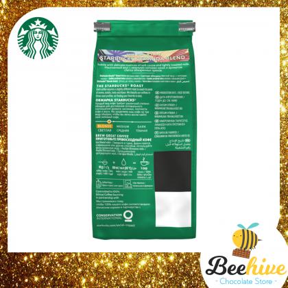 Starbucks Verdana Blend Blonde Roast 100% Arabica Grounded Coffee Beans 200g