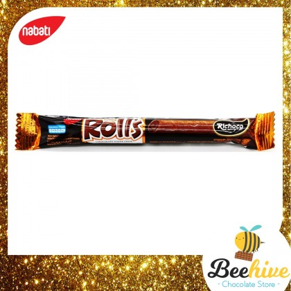 Nabati Chocolate Rolls Wafer 18g 1pc Only [Mix & Match]