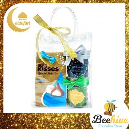 Beehive Chocolate Premium Raya Gift Set Dried Fruits & Hersheys Chocolates