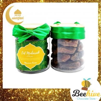 Beehive Snackies Dried Soft Figs and Mariami Kurma Raya Gift Set