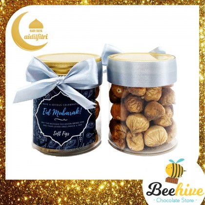 Beehive Snackies Dried Fruits with Hersheys Kisses Raya Gift Box with Handle