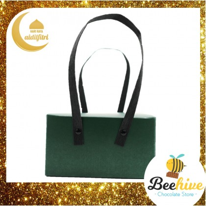 Emerald Green Gift Box with Handle