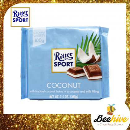 Ritter Sport Coconut Chocolate 100g