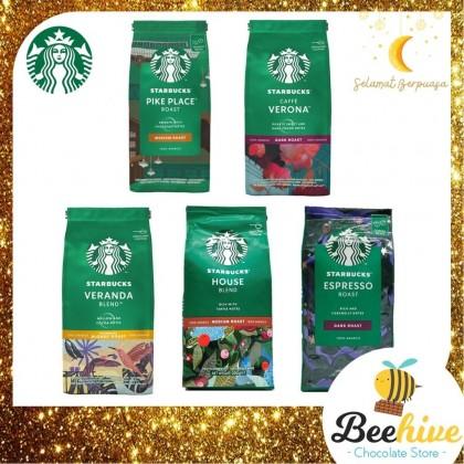Starbucks and Hersheys Chocolate Candy Premium Bucket Gift Box Set