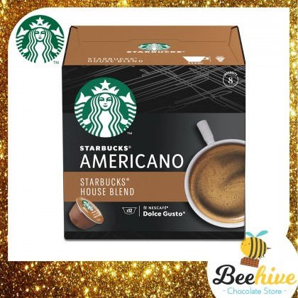Starbucks Americano House Blend Dolce Gusto 102g