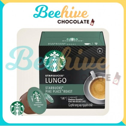 Starbucks Dolce Gusto Lungo Pike Place Roast Capsule Coffee 78g