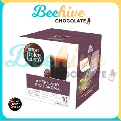Nescafe Dolce Gusto Americano Rich Aroma Capsule Coffee 128g