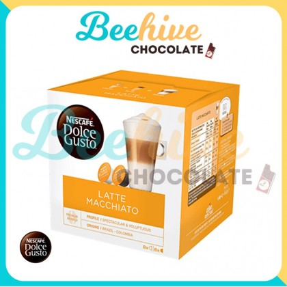 Nescafe Dolce Gusto Latte Macchiato Capsule Coffee 183.2g