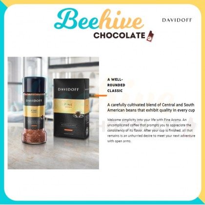 Davidoff Fine Aroma 100% Arabica Instant Coffee 100g