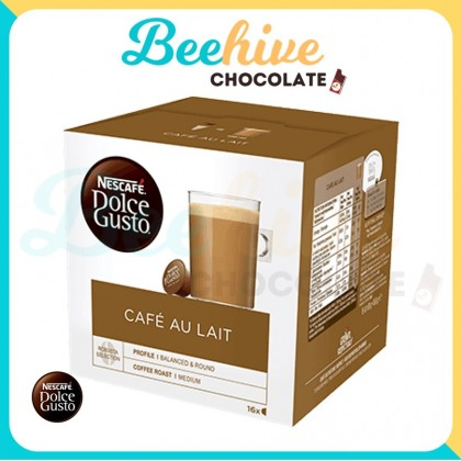 Nescafe Dolce Gusto Cafe Au Lait Capsule Coffee 160g