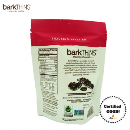 BarkThins Dark Chocolate Almond with Sea Salt 133g