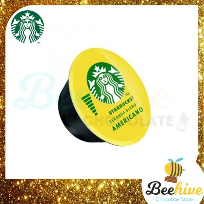 Starbucks Dolce Gusto Veranda Blend 12 Capsules 102g