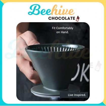 Ceramic V60 Coffee Dripper [Muji Style]