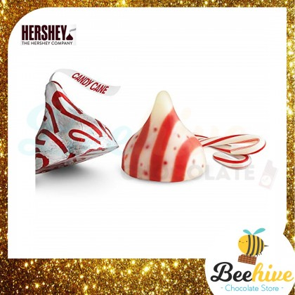 Hersheys Kisses Candy Cane Mint Chocolate 255g [USA]