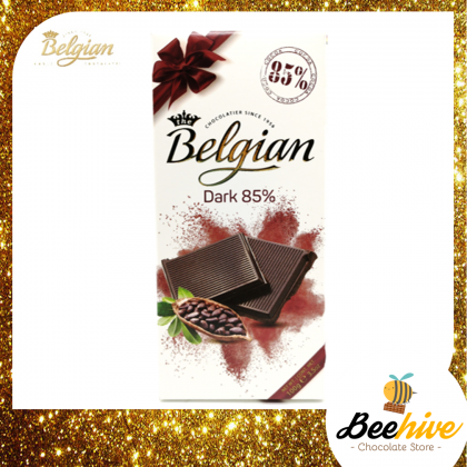 Belgian Dark Chocolate 85% 100g