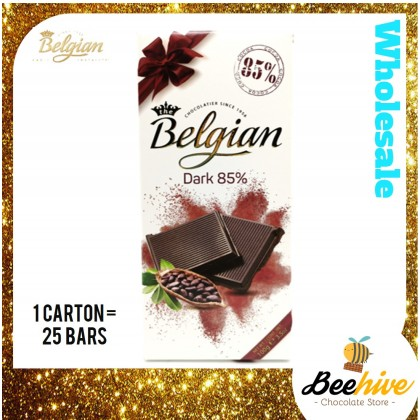 Belgian Dark Chocolate 85% 100g
