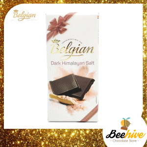 Belgian Limited Edition Dark with Himalayan Salt 100g
