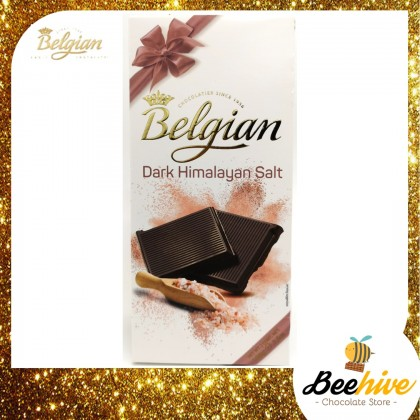 Belgian Limited Edition Dark Chocolate with Himalayan Salt 100g