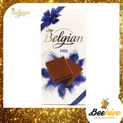 Belgian Milk Chocolate 100g