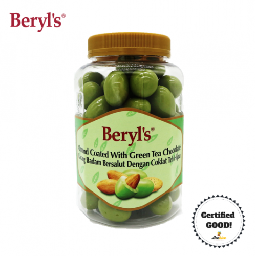 Beryl's Almond Coated with Green Tea Chocolate 410g