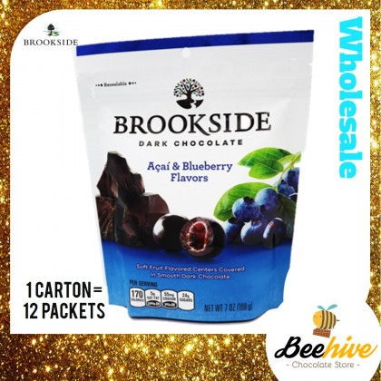 Brookside Acai & Blueberry Dark Chocolate 198g