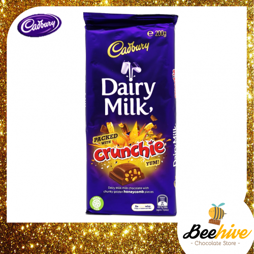 Cadbury Dairy Milk Crunchie 200g