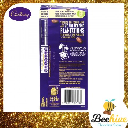 Cadbury Dairy Milk Peppermint 180g