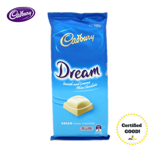 Cadbury Dream Smooth & White Chocolate 200g