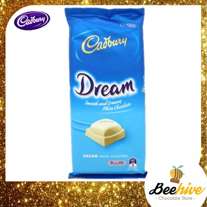 Cadbury Dream Smooth & White Chocolate 180g