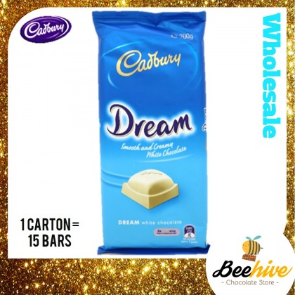 Cadbury Dream Smooth & White Chocolate 180g