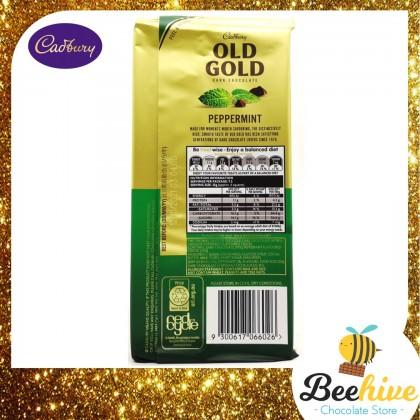 Cadbury Old Gold Peppermint Dark Chocolate 180g