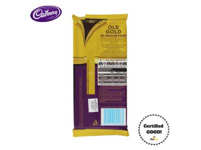Cadbury Old Gold Jamaica Rum & Raisin 200g