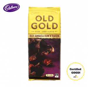 Cadbury Old Gold Jamaica Rum & Raisin 200g