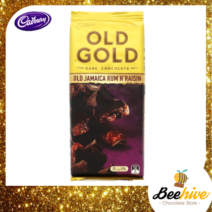 Cadbury Old Gold Jamaica Rum & Raisin Chocolate 180g