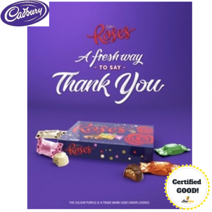 Cadbury Roses - Assortment of Milk & Dark Chocolates 225g