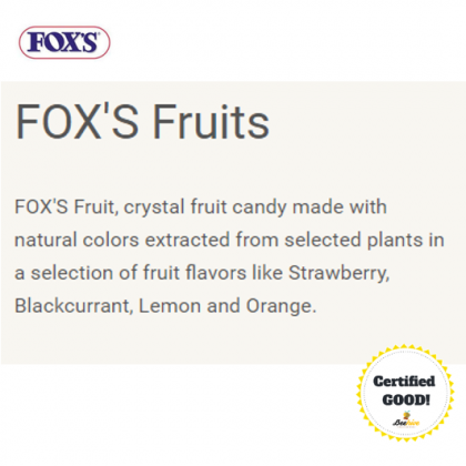 Fox's Fruits Candy 180g