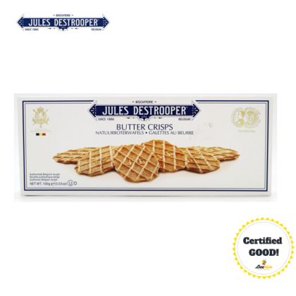 Jules Destrooper Authentic Premium Butter Biscuits 100g