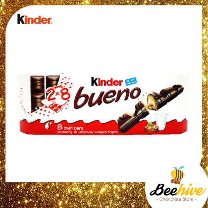 Kinder Bueno 8 Twin Bars 344g