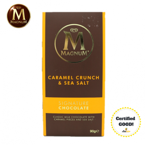 Magnum Signature Chocolate Caramel Crunch & Sea Salt 90g