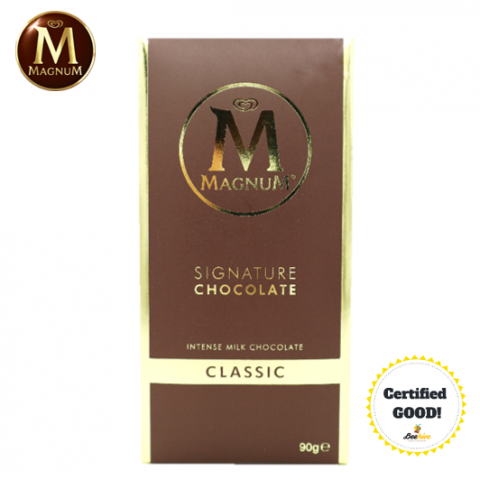 Magnum Signature Chocolate Classic Intense Milk Chocolate 90g