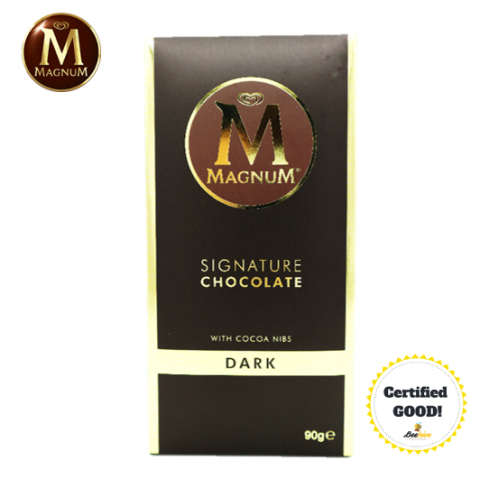 Magnum Signature Chocolate Dark with Cocoa Nibs 90g