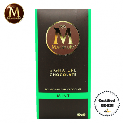 Magnum Signature Chocolate Mint with Ecuadorian Dark Chocolate 90g