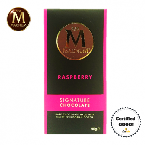 Magnum Signature Chocolate Raspberry 90g