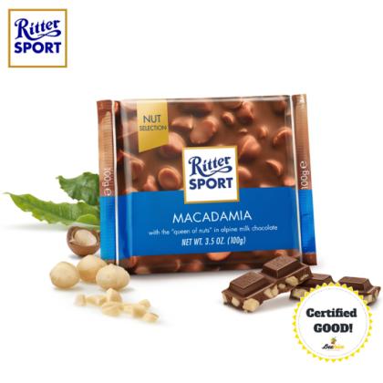Ritter Sport Macadamia Chocolate 100g