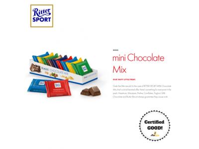 Ritter Sport Mini Mix 150g (9pcs)