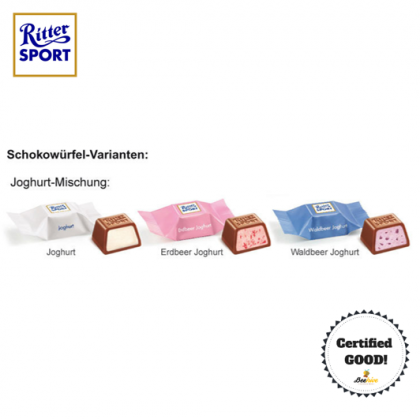 Ritter Sport Schokowurfel Jogurt Cube 176g