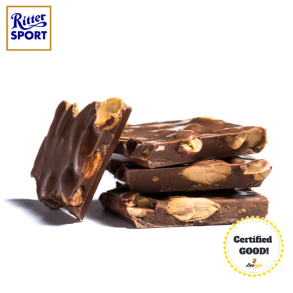 Ritter Sport Whole Almonds Chocolate 100g