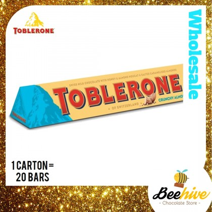 Toblerone Crunchy Almonds 2x100g