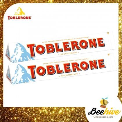 *Promo* Toblerone White Chocolate 2x100g [Exp: 12 Jan 2021]