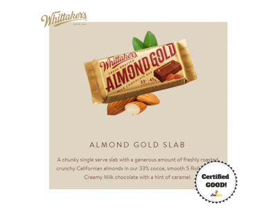 Whittaker's Almond Gold 135g